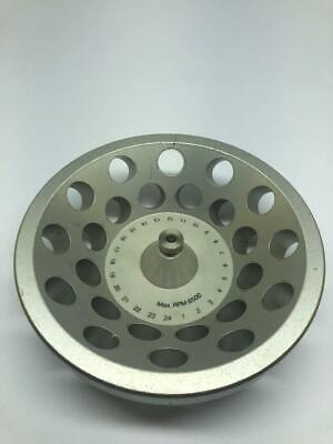 Fixed Angle Centrifuge Rotor 24-place With Tubes 6500 Rpm Max