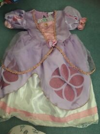 Sofia the first dressing up outfit 1-2 years