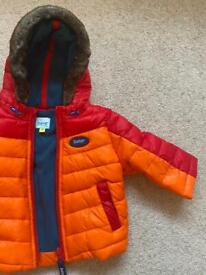 Ted Baker baby coat age 3-6m