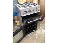 Freestanding oven and hob gas cooker