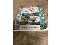 SPONGE PAINTING (BOOK)