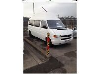 Vw T4 2l petrol 1993, hightop camper, longwheel base