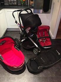 Quinny Buzz Travel System inc Maxi Cosi Car Seat, Dreami Carry Cot etc