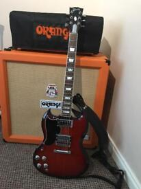 Gibson SG Standard High Performance 2017 left handed