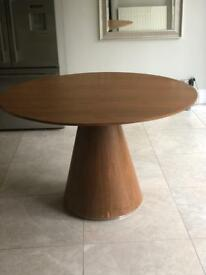 Dwell walnut dining table