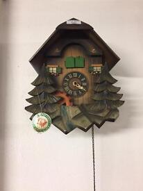 Genuine Black Forest cuckoo clock