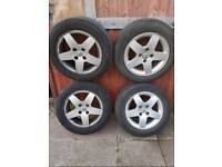 X 4 Peugeot 207 sport alloys