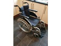 Wheel chair self propellar