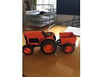 Tractor and trailer by Greentoys