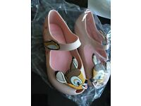 Girls shoes (bambi mini melissa)