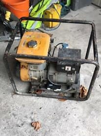 Petrol Generator 110v and 240v