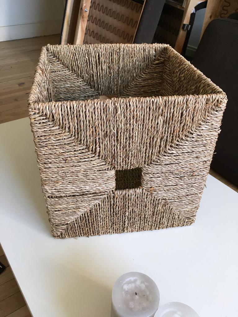 6 X Ikea Knipsa Storage Basket Box In Chiswick London