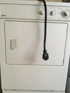 Stacker washer dryer set w/warranty delivery avail.