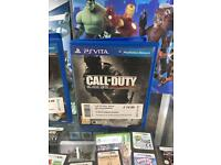 PS Vita game - Call of duty COD black ops declassified