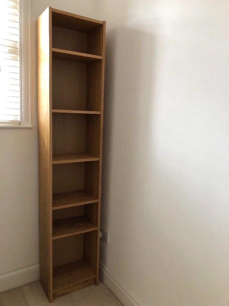 Ikea Billy Bookcase Oak Veneer Excellent Condition In Newport Gumtree