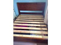 King Size Bed - Windsor Furniture Range - Mattress also available