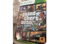 GTA v 5 Xbox 360 game