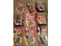 WWE Mattel carded figures, brand new