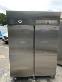 Commercial double door fridge for shop cafe restaurant freezer gdsss