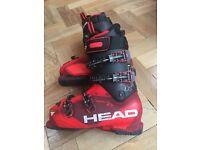 Head ski boots size 27.5 ( U.K. 7.5/8)