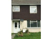 Weston-super-Mare, Oldmixon. 3 bed house. Unfurnished. Gas Central heating. Gardens