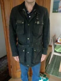 Belstff trialmaster vintage wax jacket size 42 chest