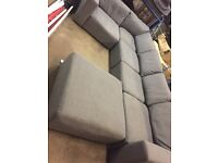 Large corner sofa settee couch