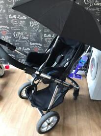 Babylo pram, Maxi Cosi car seat & isofix base