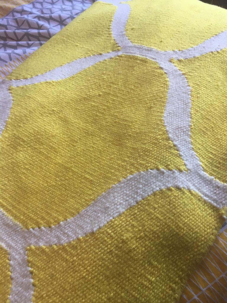 Yellow Ikea Stockholm Rug | in South