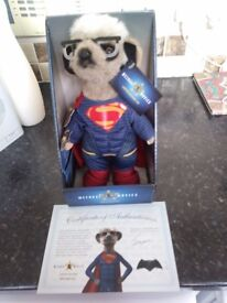Sergei Superman Meerkat Limited Edition Boxed and with certificate. Brand New