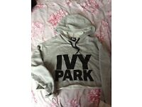 Ivy Park Sweat top great condition XS