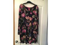 Joules tunic floral top