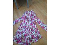 Size 18 floral cardigan