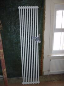2 column radiator 2m x 450mm with wall fixings