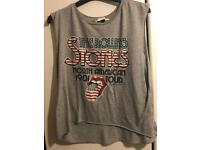 Rolling Stones and Guns N Roses vest top size 12