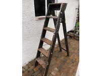 Old steps/ladders