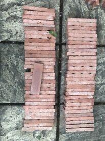 Clay brick slips - brand new, perfect condition