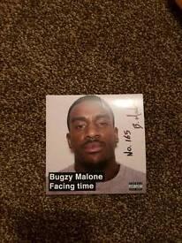 Signed Bugzy Malone album
