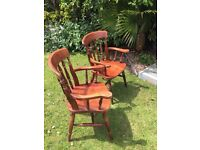 CARVER CHAIRS X2 £20.00 EACH