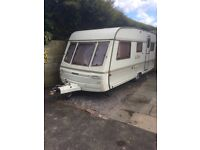 5 Berth Swift Challenger with Bradcot Awning.