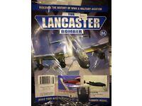 The Lancaster bombers model set