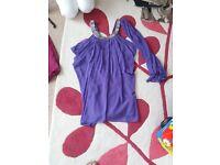 purple dress ideal for wedding ect