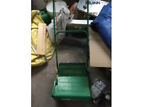 Qualcast Concorde Lawn mower with grass box
