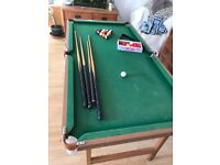 Pool/Snooker fold away table