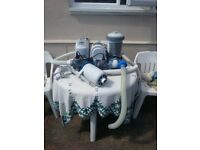 KRYSTAL CLEAR SALT WATER SYSTEM AND FILTER PUMP. MODEL C58221