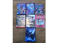 Kids Childrens DVD's Used