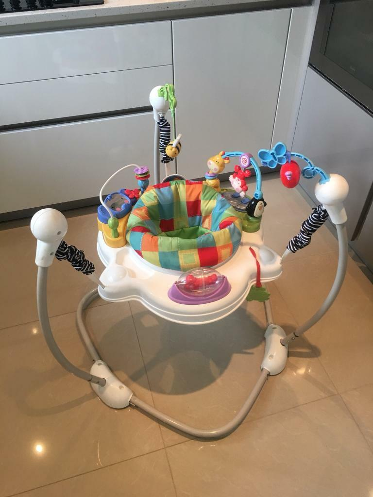 fisher price jumperoo batteries