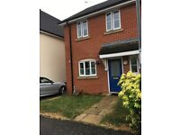Unfurnished 3 bedroom semi detached house perfect for family .No DSS/Housing benefit applicants.
