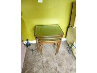Nest of 3 tables in excellent condition