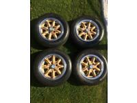 Morris minor wheels